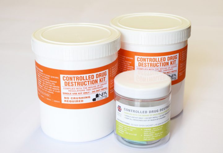 Photo of 3 denaturing products
